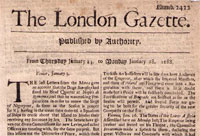 Podcast: The London Gazette - not just the brave and the bankrupt