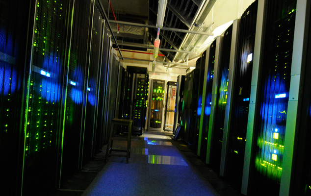 The server room at The National Archives