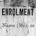 Enrolment form (catalogue reference: WO 398/163)