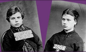 Photographs of Victorian prisoners (catalogue reference: PCOM 2/290 and PCOM 2/291)