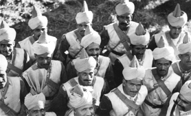 Photograph of Indian soldiers (Catalogue reference: CN 11/6)