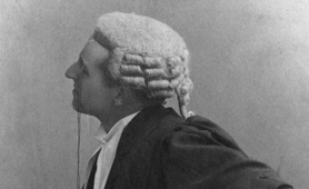 Photograph of a barrister, 1893 (Catalogue reference: COPY 1/414/843)