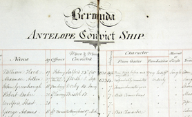 Register of convicts on the Antelope, 1873-78 (Catalogue reference: HO 7/3)