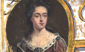 Portrait of Queen Anne (Catalogue reference: T 40/4)