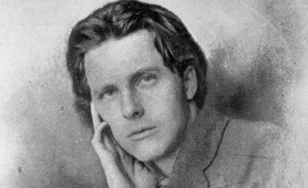 Photograph of Rupert Brooke (Catalogue reference: ZPER 34/146)