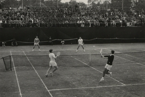British, Dutch and German lawn tennis players, Lahore, Pakistan