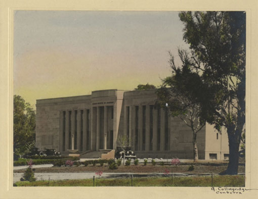 Institute of Anatomy, Canberra, 1927. Catalogue reference: CO 1069/592