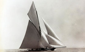 Yacht Marguerite, 1884 (catalogue reference: COPY 1/370)