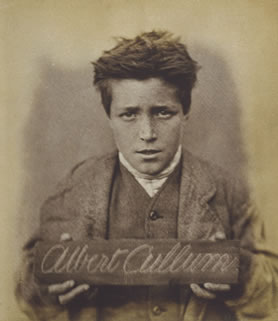 Victorian child prisoner, Albert Cullum (PCOM 2/300)