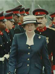 Margaret Thatcher