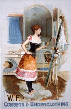 Image of W F Corset 1898