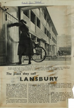 Image of The place they call LANSBURY