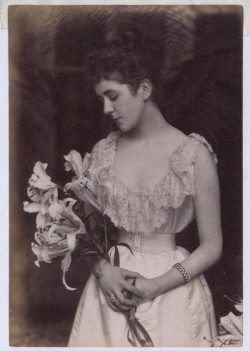 Image of Countess Russell with lily