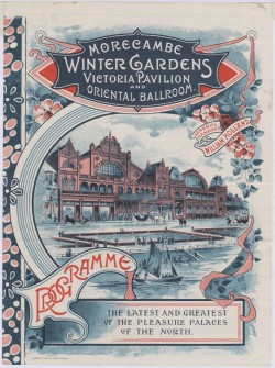 Image of Morecambe winter gardens 1897