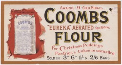 Image of Coombs' flour 1897