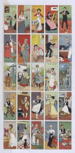 Image of Collectable advertising cards