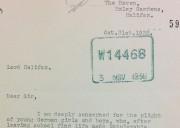 Image of Letter of concern