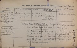 Image of Daily report on Lilian Lenton