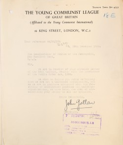 Image of Young Communist League