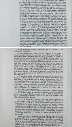 Image of Aneurin Bevan resigns