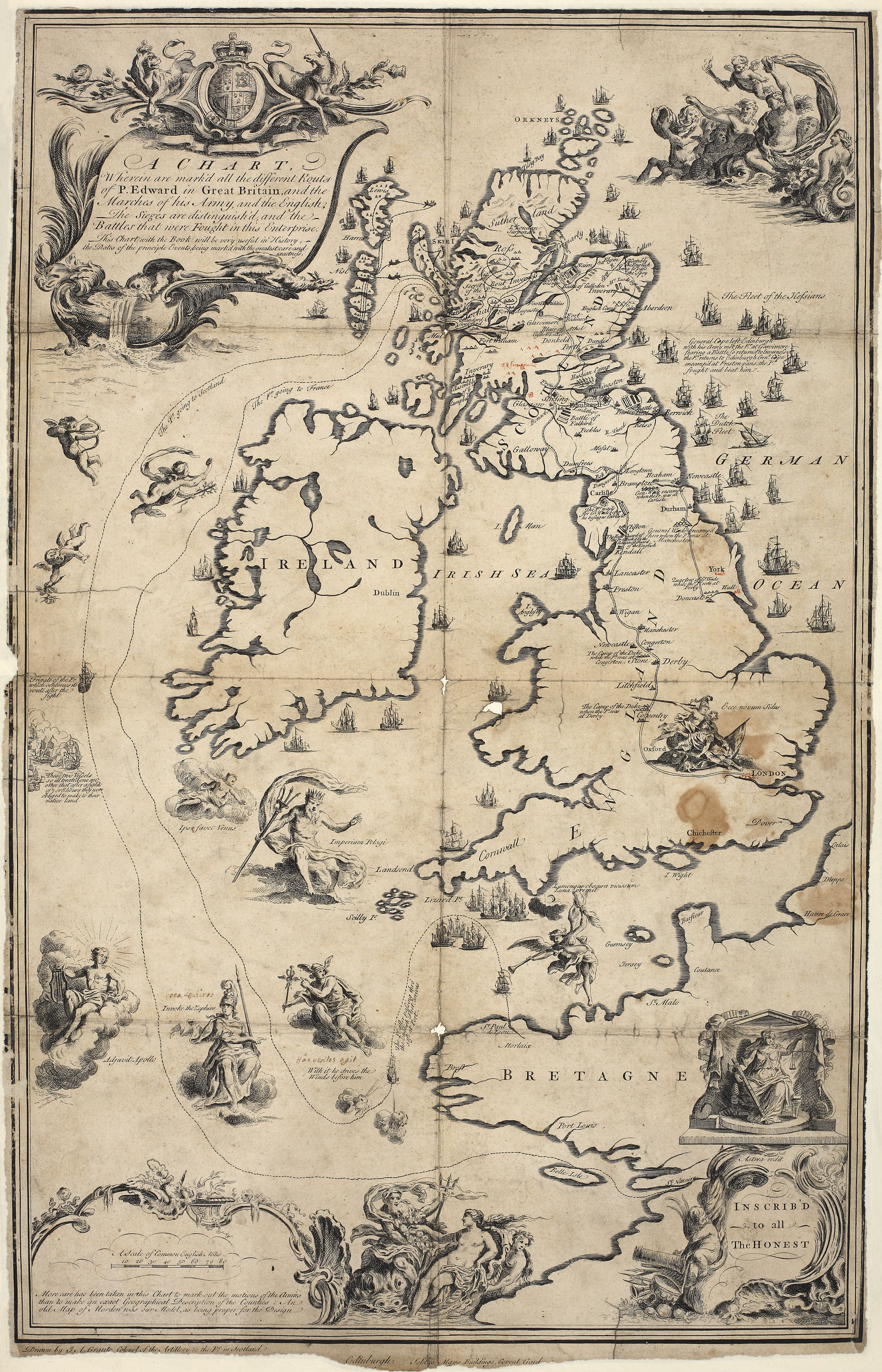 Map of Great Britain, MPF 1/2