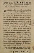 Image of Jacobite declaration of war