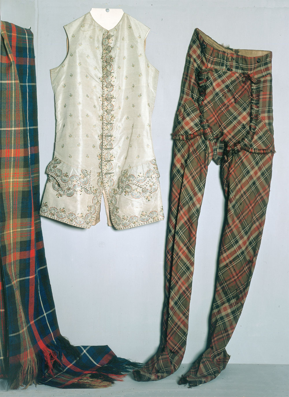 The Prince's clothes- West Highlands Museum