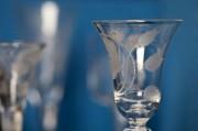 Image of Jacobite wine glass