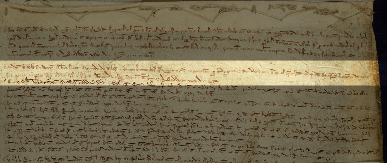 Restoration of land, Driffield, Yorkshire, 1215 (C 66/14)