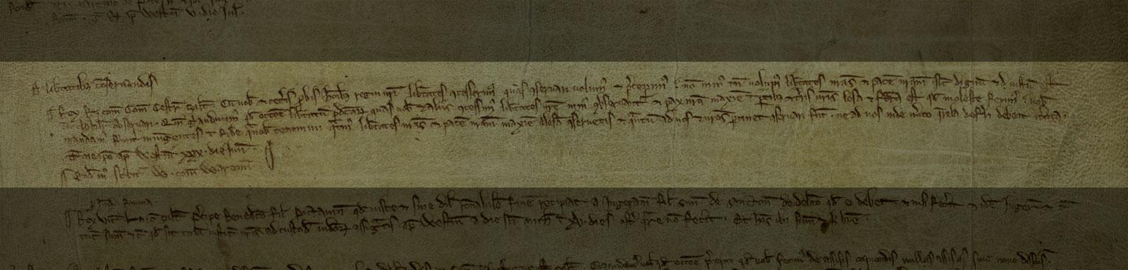 Magna Carta exploited, Chester, 1225 (C 54/34)
