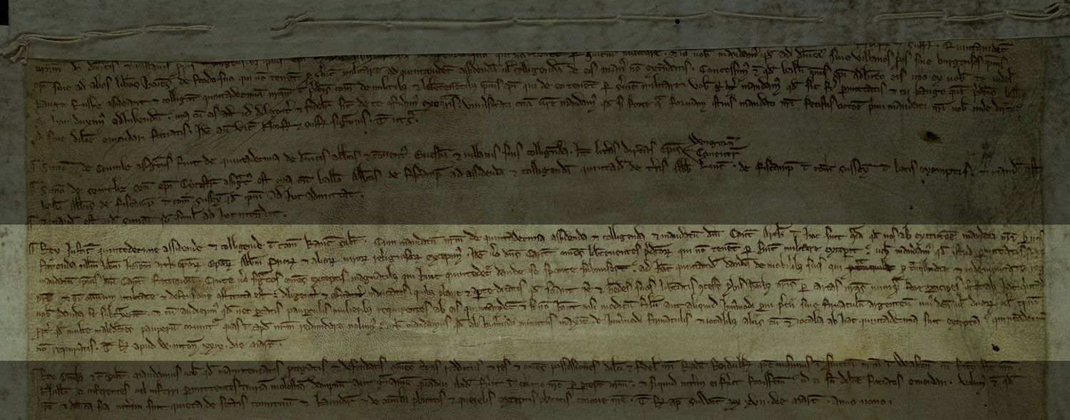 Justification for taxation, Winchester, 1225, C 66/32