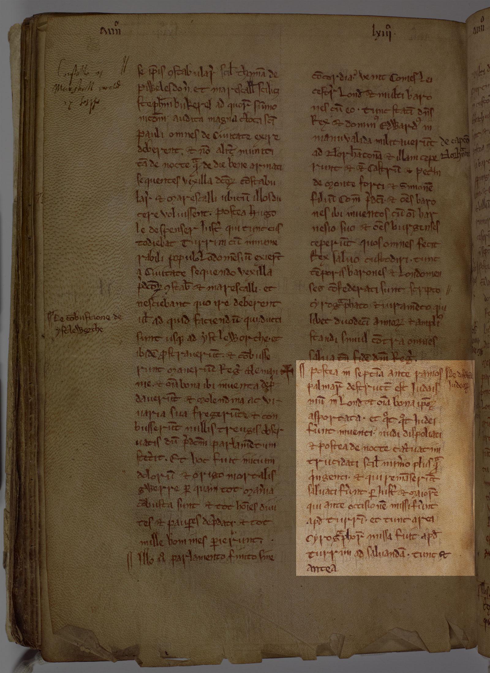 Massacre of the Jews, 1265 (London Metropolitan Archive)