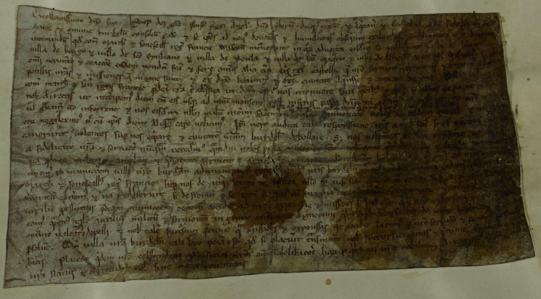 Gascony invaded, Bordeaux, 1224 (SC 1/2/176)