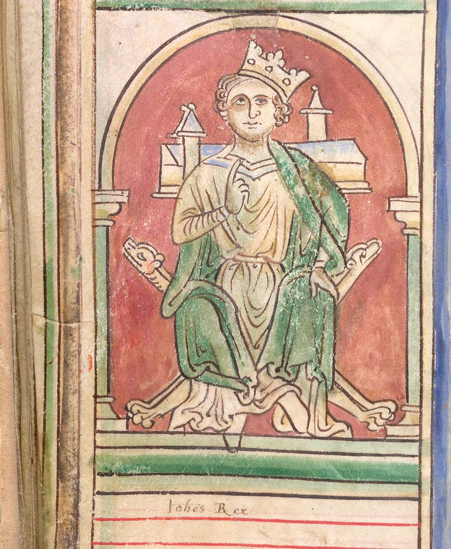 King John by Matthew Paris
