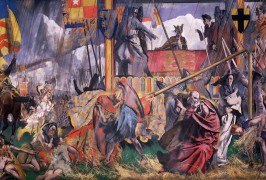 Image of King John assents to Magna Carta, 1925-1927