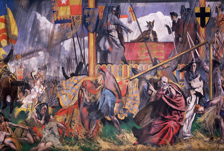 Painting of King John, 1920s