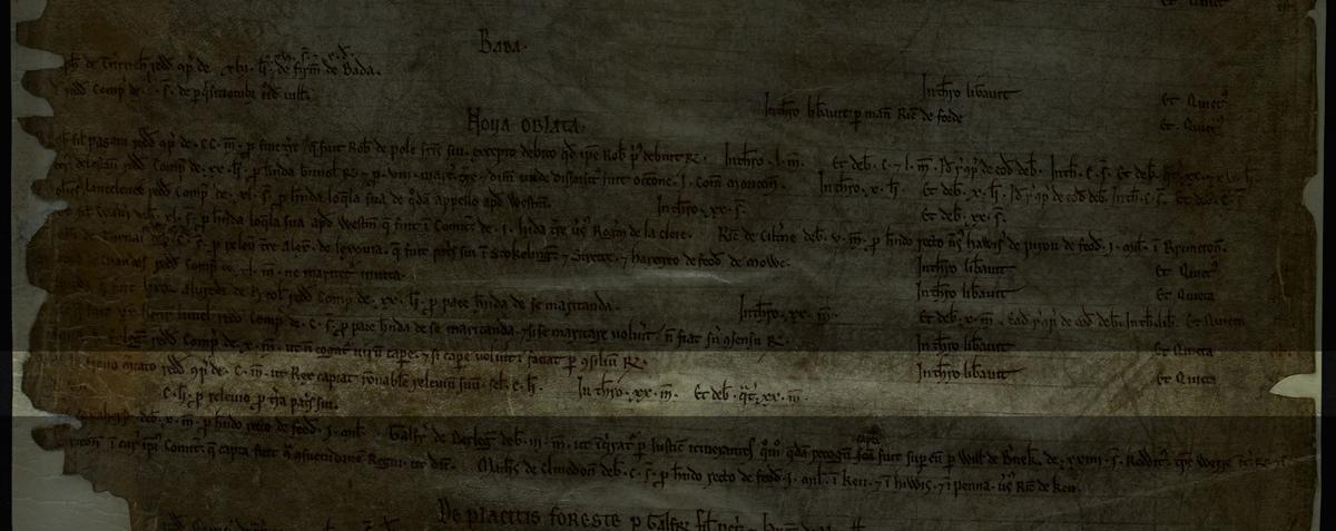 Bribe for inheritance tax, 1198, E 372/44