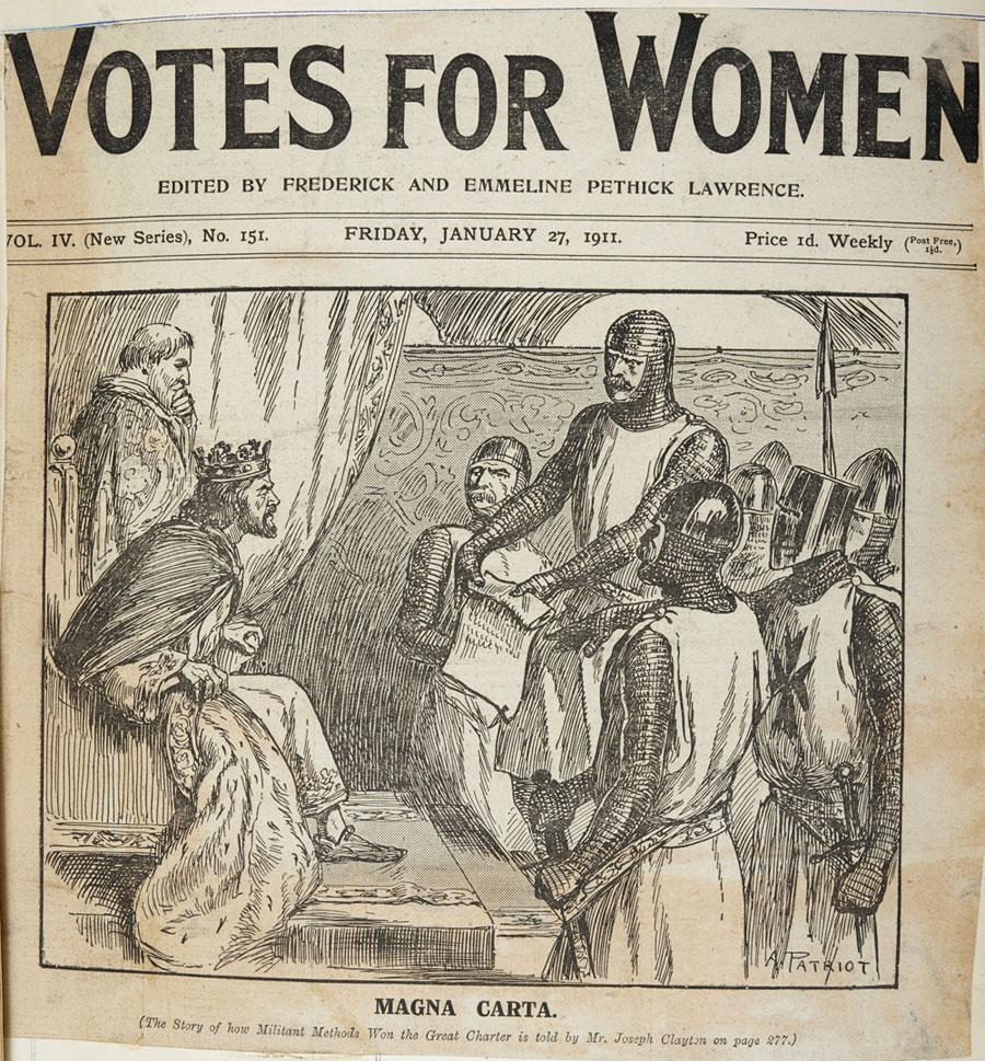 Suffragette Newspaper