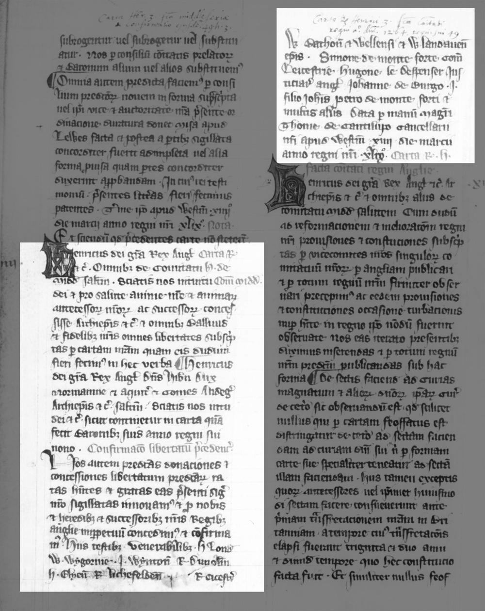 Inspeximus of Magna Carta, British Library