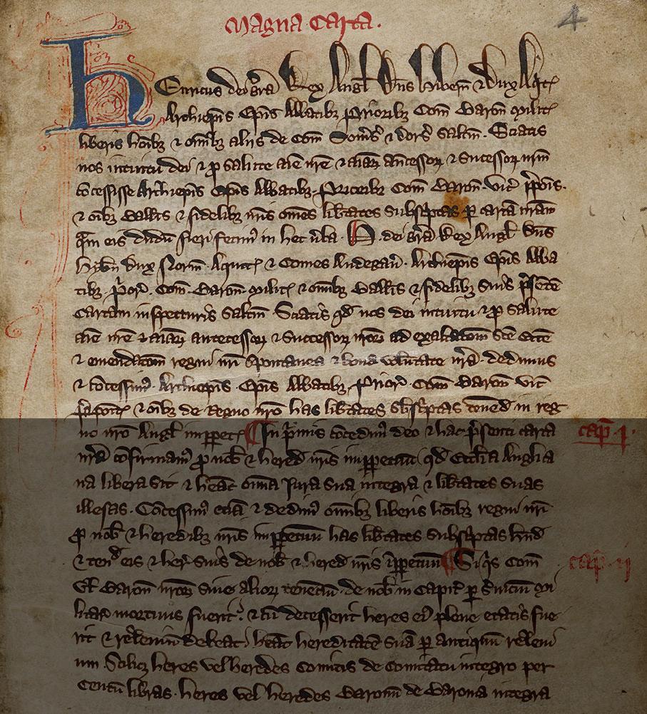 Magna Carta Inspeximus 1265 British Library