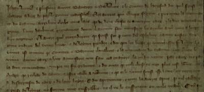 Image of Statement by Roger Bigod and Henry de Bohun, 1297