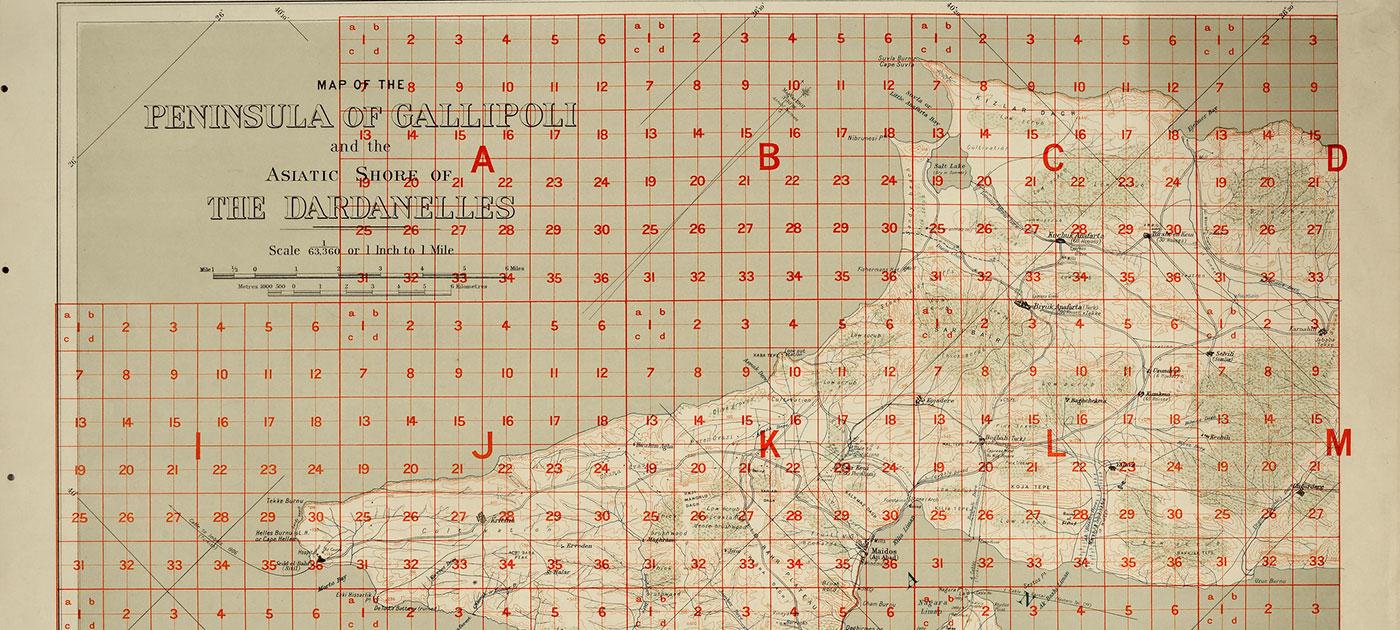 Gallipoli Peninsula, 1908 (catalogue reference: WO 301/282)