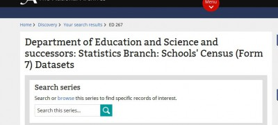 Click on 'browse' to find files within ED 267