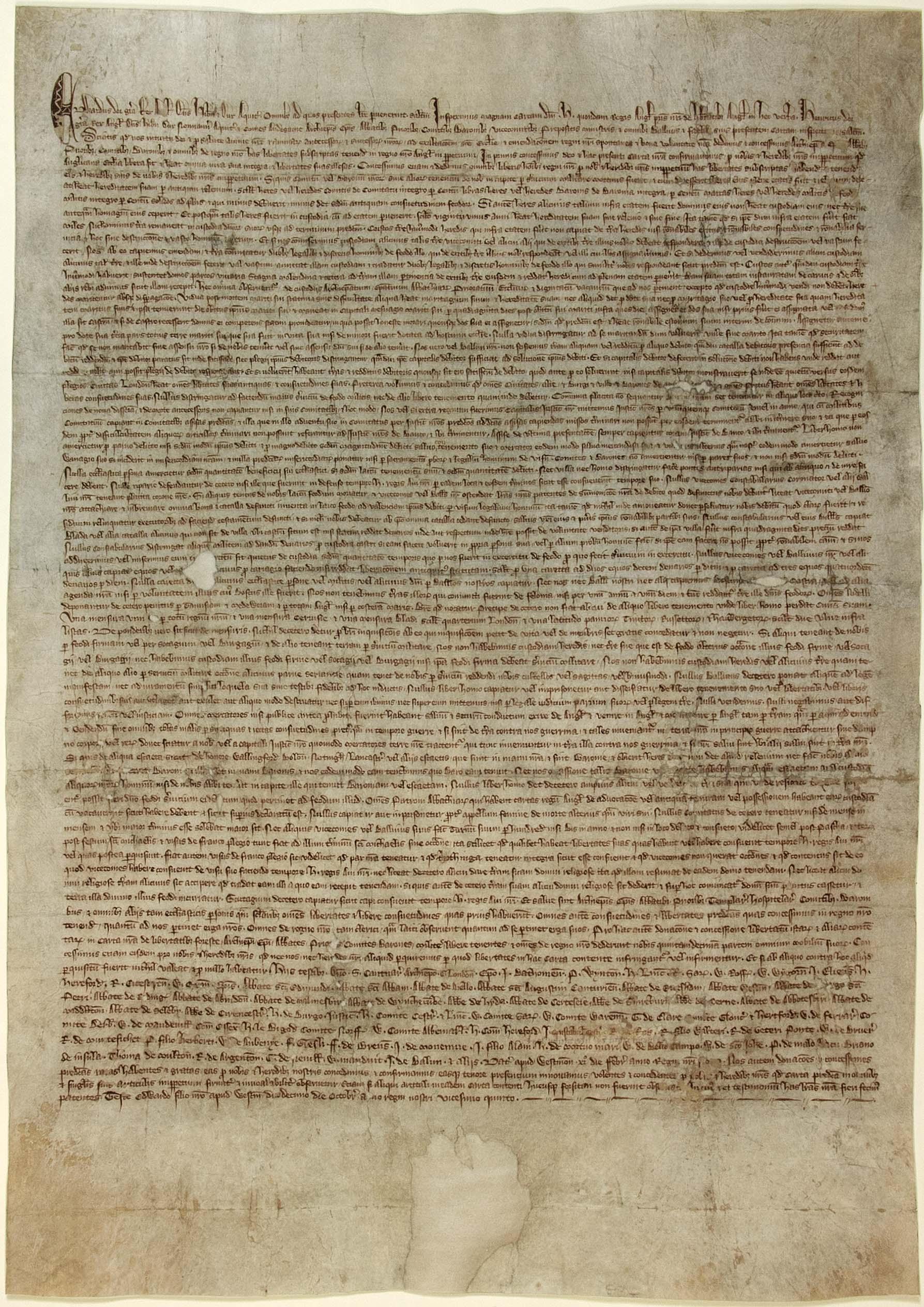 Magna Carta 1297 (DL10-197)