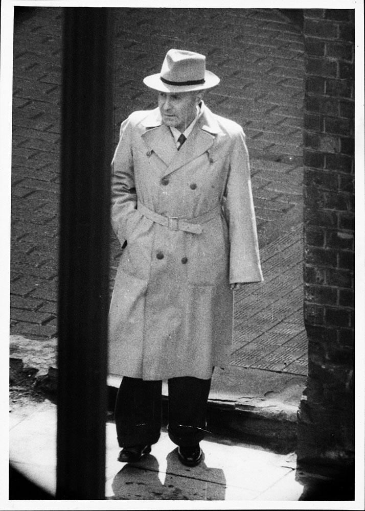 Photo of Boris Izakov, a UK correspondent for the Soviet newspaper Pravda (catalogue reference: KV 2/4003)