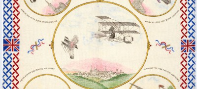 Image of 'Britain's aircraft duel in the air'