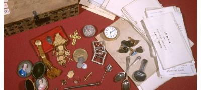Image of Mary's belongings