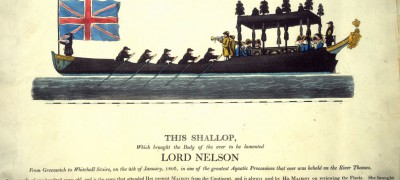 Image of Nelson's barge
