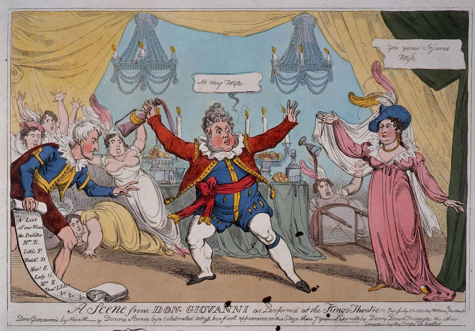 Cartoon supporting Queen Caroline (TS 11/115/326 (41))