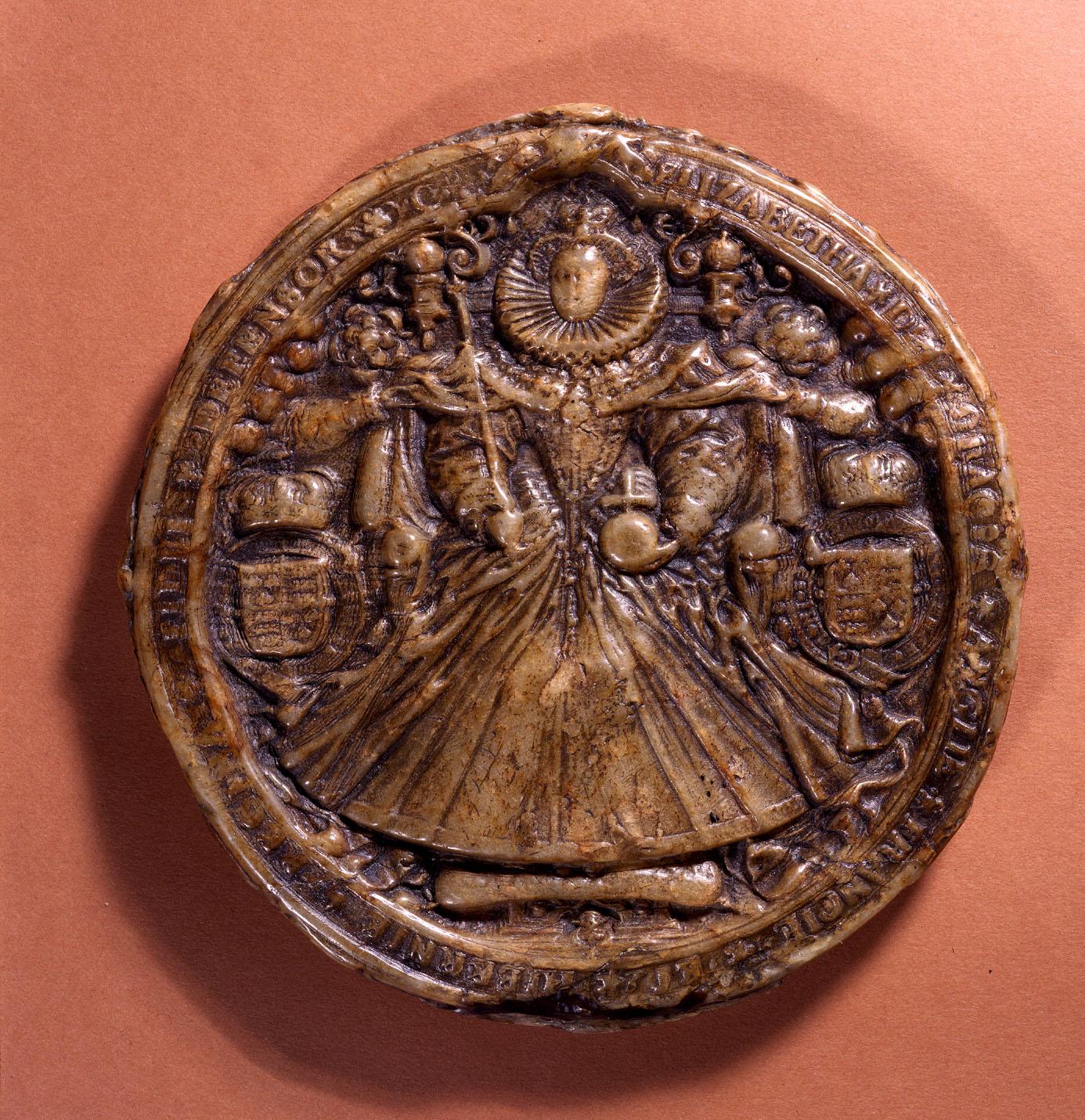 The Great Seal of Elizabeth I, 1586-1603 (SC 13/N3)
